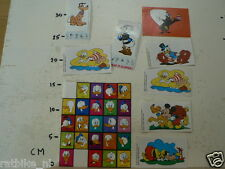 STICKER,DECAL WALT DISNEY LOT,DONALD DUCK,GOOFY,MICKY MOUSE