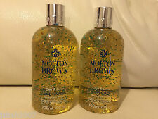 Molton Brown 2 x 300ml Caju & Lime Body Wash Shower Gel NEW **LOOK**