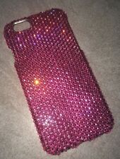 Rose Pink Crystal BLING Back Case For IPHONE 6s 6 4.7 With SWAROVSKI Elements