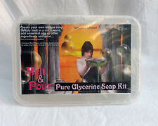 Pure Glicerina SOAP MAKING Kit-Melt & Pour-suficiente para 4/5 bares 475g