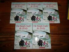 Lot of 5 The FAMILY UNDER the BRIDGE Carlson GUIDED READING Lit Circle books AR5