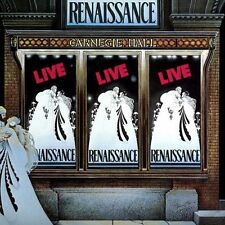 RENAISSANCE - LIVE AT THE CARNAGIE HALL - 2CD NEW SEALED VINYL REPLICA 2008