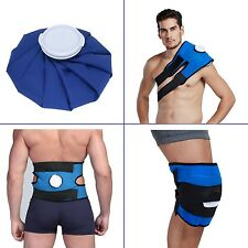 Koo-Care Pain Relief Hot Cold Therapy Reusable Ice Bag Pack & Wrap for Head S...