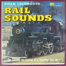 Pochette Trains 33 tours  Rail Sounds