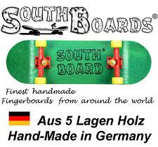 Komplett Holz Fingerskateboard GR/RT/GE SOUTHBOARDS® Handmade Wood Fingerboard