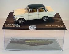 Opel Collection 1/43 Opel Rekord PII weiß 1960 - 1963 in Plexi Box #1298