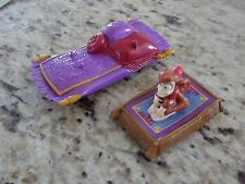 Disney Aladdin Magic Carpet & Abu Burger King Toys GUC