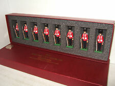 The British Toy Soldier Coy, 8 Scots Guards in Slade wallace Dress at Attention.