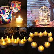 6 pcs Waterproof LED Floating Flicker Tea Light Flameless Candle Wedding Party