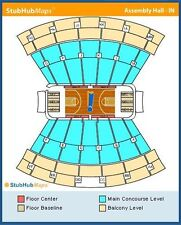 2 Tickets - Indiana Hoosiers Basketball vs Delaware State Hornets