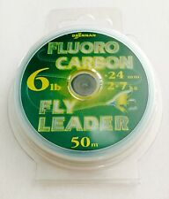 DRENNAN 6 LB. FLUOROCARBON LEADER MATERIAL / 54 YARDS **NEW**