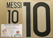MESSI Argentina #10 Name Number Player size set,