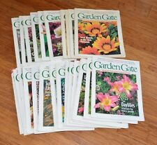 lot of 25 GARDEN GATE magazines gardening flowers early issues no. 3 to no. 28