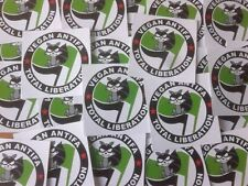 500 Vegan Antifa Aufkleber stickers Punk HC sXe Vegetarian Animal Liberation ALF