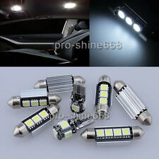 Canbus Fit VW Jetta 6 MK6 2011 Interior Package Kit LED Light Xenon White 13X
