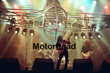 """12""""*8"""" concert photo of Motorhead playing at Port Vale in 1981"""
