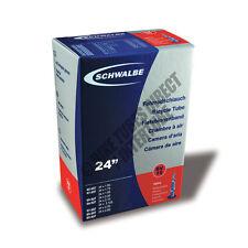 """24"""" x 1.50 / 2.50 Schwalbe Bike Inner Tube SV10 Presta Valve RRP £9.99 [S18-1]"""