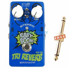 Babyboom Effect TRI REVERB Stereo Guitar Bass Effects Pedals True Bypass Pedal