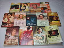 13 Tracie Peterson Judith Miller Paperback Book Lot Christian Romance Lot Set 13