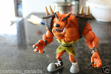 Resaurus Crash Bandicoot Tiny Action Figure Series 1 Loose 1998 COOL TOY