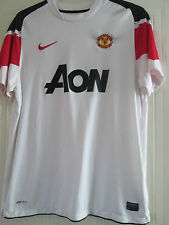 Manchester United 2010-2011 Away Third Football Shirt Large /40235