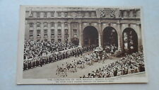 Coronation of her Majesty Queen Elizabeth II - The Royal coach passing through