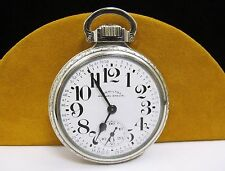 ANTIQUE HAMILTON Railway Special 14k Gold Filled POCKET WATCH 21 Jewels 992B