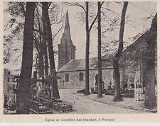1901  --  EGLISE ET CIMETIERE DES ISLANDAIS A PAIMPOL   3H710