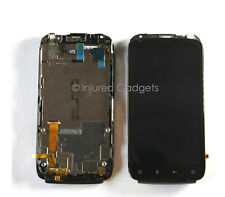 LCD Display Touch Screen Glass Digitizer Frame Assembly for HTC Sensation 4G