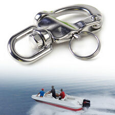 Snap Shackle with Small Swivel Bail Stainless Steel Marine Boat Yacht Hardware