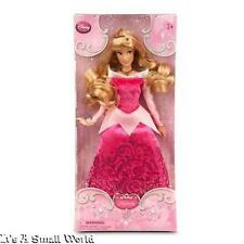 "Disney Store Classic Doll Princess Aurora Poseable Doll 12"" H Glitter Gown NIB"