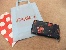 CATH KIDSTON ROYAL BLUE ROSES ZIPPED WALLET BNWOT & GIFT BAGS