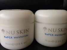 "NU SKIN NaPCA Moisturizer ""2 PACK"" Cream Lotion Brand NEW - WORLDWIDE"