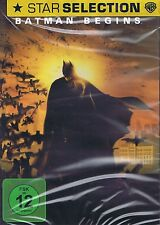 DVD NEU/OVP - Batman Begins - Christian Bale & Michael Caine