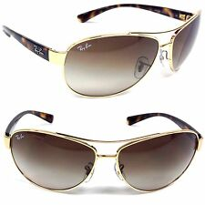 Ray-Ban RB 3386 001/13 Gold / Brown Gradient Lens 63mm