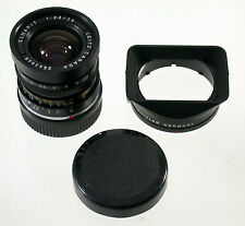 Elmarit M 2,8/28 28mm F2,8 LEICA M3 M6 MP M9 LEITZ No. 2543945 + hood 12501