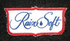"RAINSOFT EMBROIDERED SEW ON ONLY PATCH WATER SOFTENER TREATMENT 3 1/2"" x 2"""