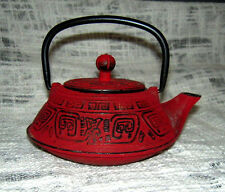 Cast Iron Tetsubin 12oz teapot with Infuser