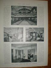 Photo article interior HMS Ophir royal yacht 1901 UK