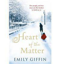 Emily Giffin Heart of the Matter Very Good Book