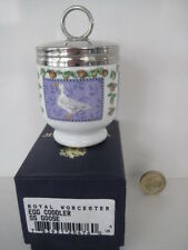 VERY RARE ROYAL WORCESTER BOXED SINGLE SIZE EGG CODDLER GOOSE .............small