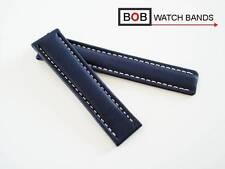BOB KALB ECHTLEDER FALTSCHLIESSENBAND 22-20 Kompatibel mit Breitlingfaltschließe