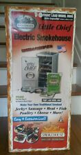 NEW NOS LITTLE CHIEF MODEL 9900 FRONT LOAD ELICTRIC SMOKEHOUSE ELECTRIC SMOKER