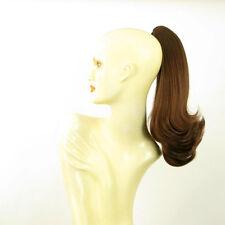Hairpiece ponytail 15.75 dark brown copper  8/31 peruk