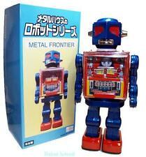 Metal House Robot Tin Toy Japan Frontier Robot Battery Operated Cockpit Robot