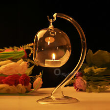Hanging Crystal Glass Candle New Come Holder Candlestick Romantic Dinner Trendy