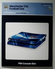 PS4 Console Skin , Official Manchester City FC Skin . New .
