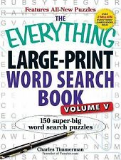 Large-Print Word Search Book Vol. 5 : 150 Super-Big Word Search Puzzles by...