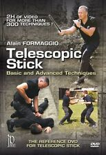 telescopic stick  techniques DVD Self Defense