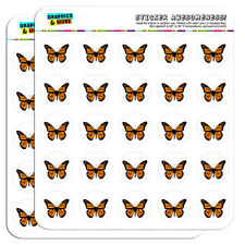 "Monarch Butterfly 1"" Scrapbooking Crafting Stickers"